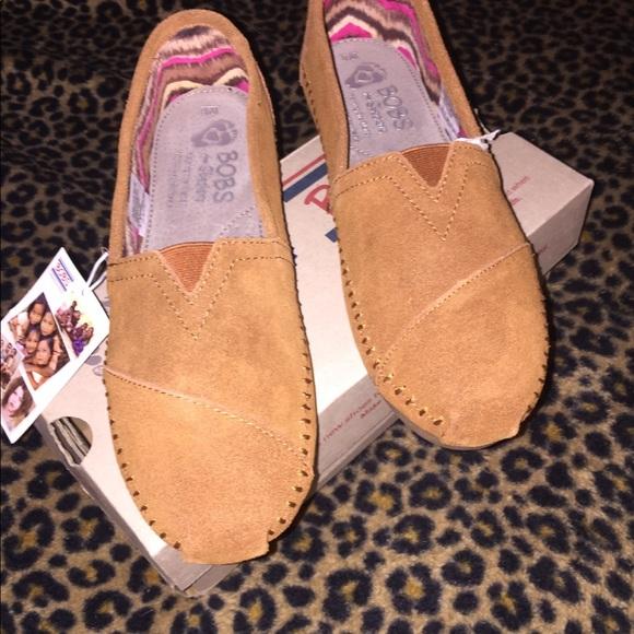 Skechers Shoes | Bobs Chestnut Suede